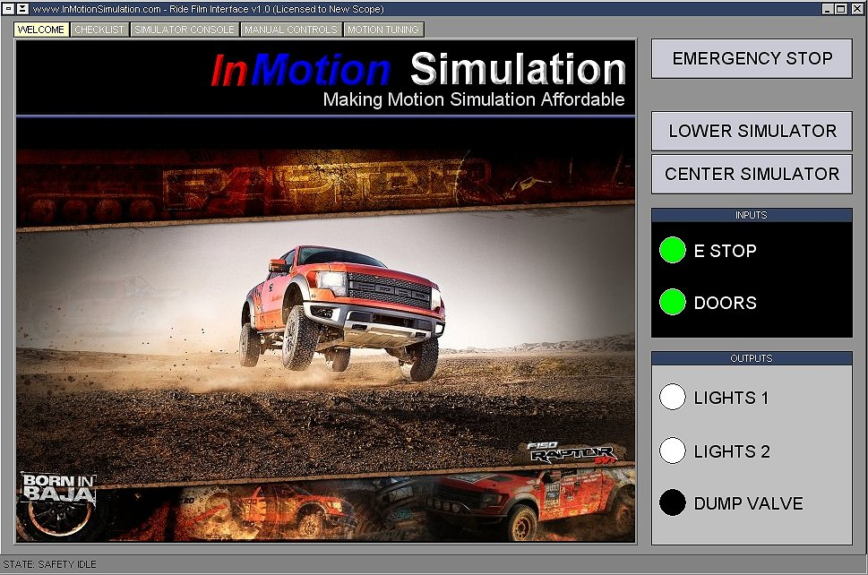 InMotion Simulation - Custom Motion Simulators For All
